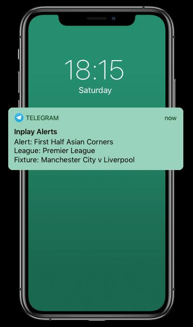 Football Telegram Alert